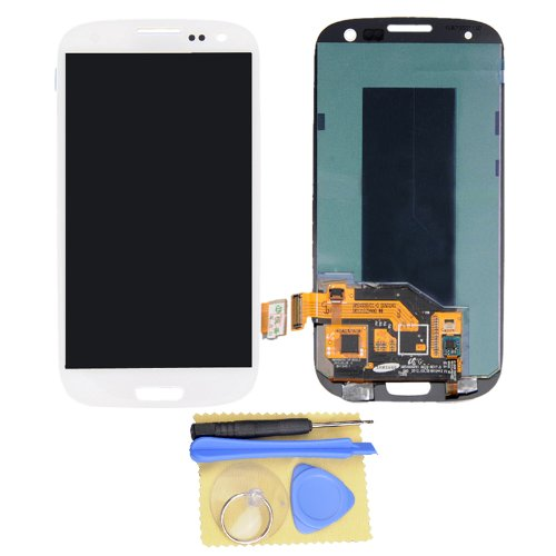 White Lcd Display Touch Digitizer Screen Assembly For Samsung Galaxy S3 I9300 I747 T999