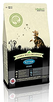 James Wellbeloved Fish and Rice Kitten Food