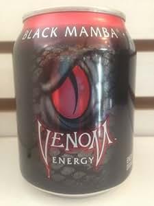 Venom Energy Drink - Black Mamba (8oz Can) 24 Pack