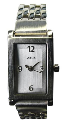 WOMENS LORUS DRESSY STEEL EZ FIT WATCH NEW LR0763