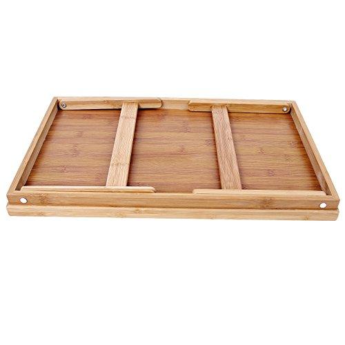Songmics vassoio da letto in bamb colazione a letto - Vassoio per colazione a letto ...