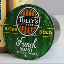 Keurig K Cups, 108-Count Tully's French Roast Coffee Pods