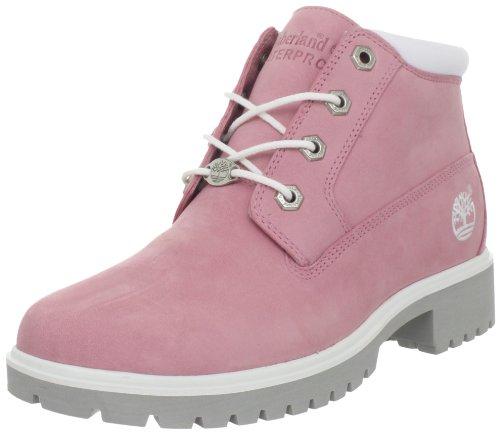 090de7bc6ee3d 28363-Bubble Gum Pink Nubuck-5-M Size: 5, Width: M (Medium), Color: Pink  6'' Premium Waterproof Boots by Timberland Features: -Women's Nellie  Premium Boots ...