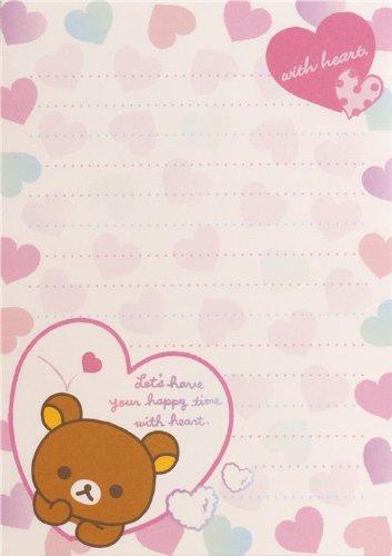 Imagen 2 de Bloc de notas Rilakkuma con osos y un pollito en la bañera
