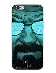 MiiCreations 3D Printed Back Cover for Apple Iphone 6 Plus,Breaking Bad