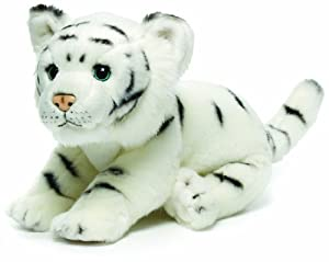 Nat and Jules White Tiger Plush Toy, Large