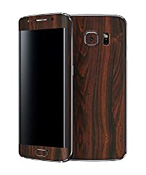 dbrand Mahogany Wood Front and Back Mobile Skin for Samsung Galaxy S6 Edge