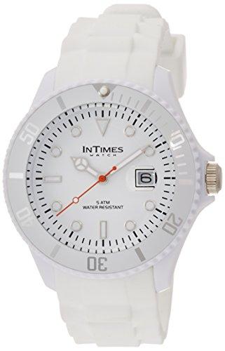 [インタイムス]INTIMES 腕時計 シチズンムーブ搭載 日付カレンダー付き ホワイト IT057-WH  【正規輸入品】