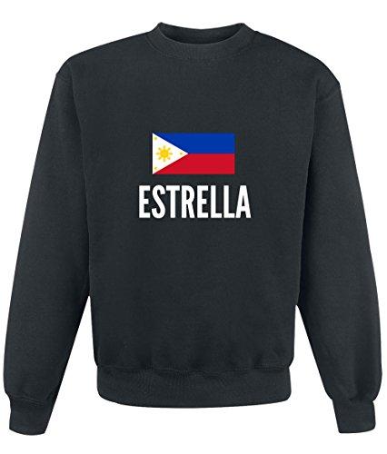 Felpa Estrella city Black