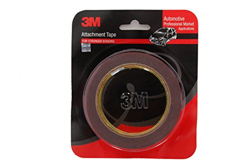3M IA210135603 Acrylic Foam Tape (Grey with Red Liner)