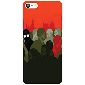 Printland Sticker Phone Cover For Apple iPhone 5C