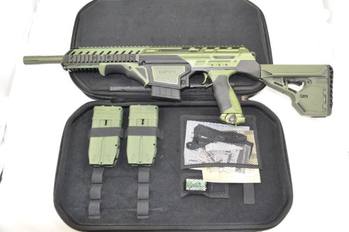 Dye DAM Paintball Gun - Olive Green / Black (Dye Dam Mags compare prices)
