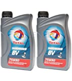 Total BV 75W80 Transmission Manual Gear Box Oil TOT-149980-2 - 2x1L = 2L