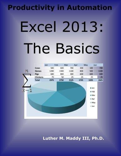 Excel 2013: The Basics