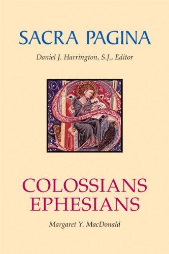 Colossians and Ephesians (Sacra Pagina series-paperback)