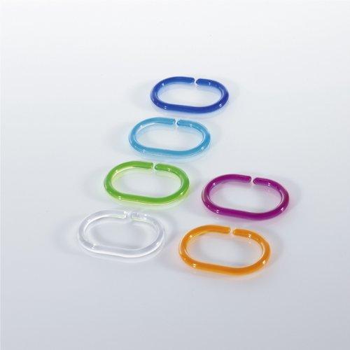 Spirella 1040075 anelli per tenda doccia confezione da for Spirella accessori bagno