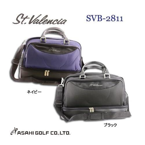 アサヒゴルフ(ASAHI GOLF) St.Valencia(セントバレンシア) ボストンバッグ SVB-2811 ネイビー