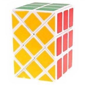 Diansheng 3x3 Ancient Double Fish Cube White - 1