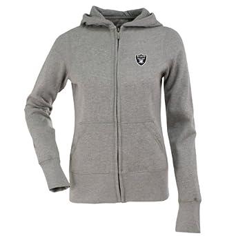 NFL Ladies Oakland Raiders Signature Full Zip Hood by Antigua