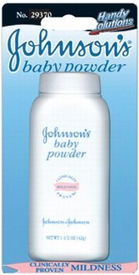 Johnsons J&J Baby Powder 1 oz. (3-Pack)