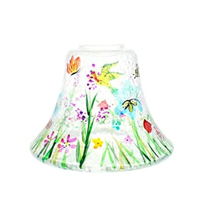 Garden Crackle Medium Large Jar Shade by Yankee Candles