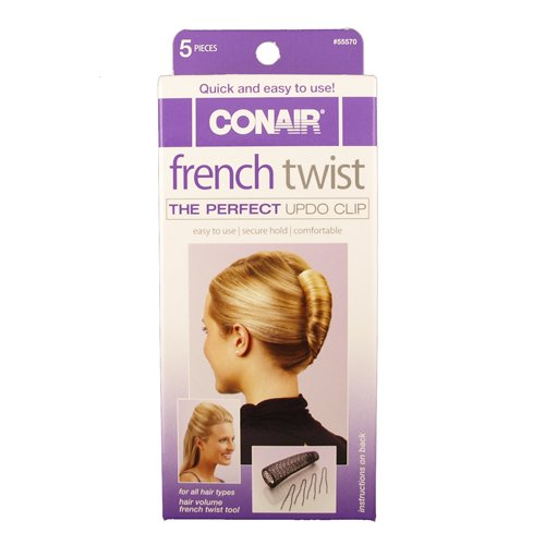 Conair French Twist Perfect Up do Clip Set (Conair Hair Roll compare prices)