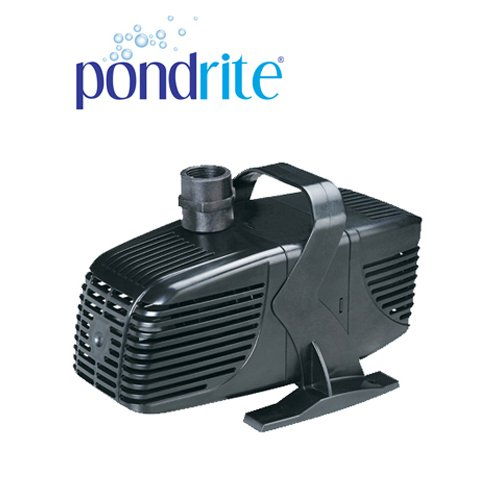 PONDRITE - 8000 litres /h Garden Pond Pump Water Feature / Waterfall