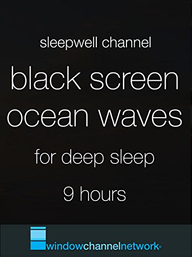 Black Screen Ocean Waves for Sleep 9 hours