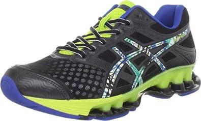 ASICS Men's GEL-Rebel Running Shoe,Black/Pop Art/Lime,7.5 M US