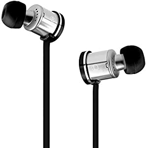 Velodyne vPulse Black In-Ear Headphones with Inline Microphone