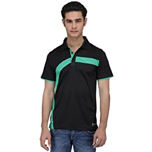 Cricket Polo T-Shirt - Black | S