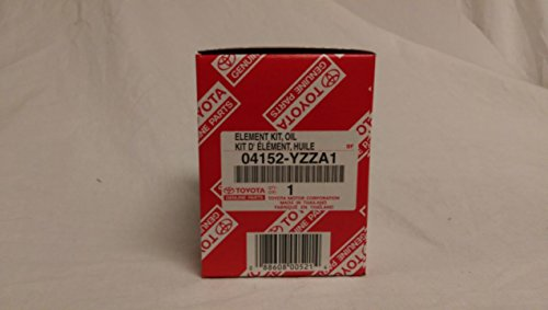 Toyota Genuine Parts 04152-YZZA1 1/2 case (QTY5) Oil Filters (2013 Toyota Camry Parts compare prices)