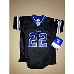 New! NFL Dallas Cowboys Throwback Jersey #22 Emmitt Smith Baby Toddler Onesie Size 24... by NFL