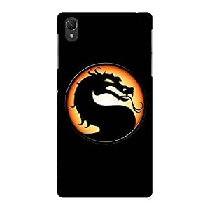 Gorgeous Mortal Black Back Case Cover for Sony Xperia Z2