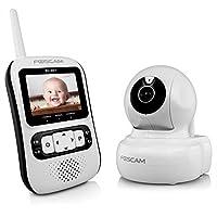Foscam Babycare BC901 Pan/Tilt Video Baby Monitor - Night Vision, 2.4