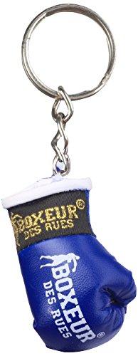 Boxeur Des Rues Fight Activewear Portachiavi Guanto da Boxe, Blu, Taglia Unica