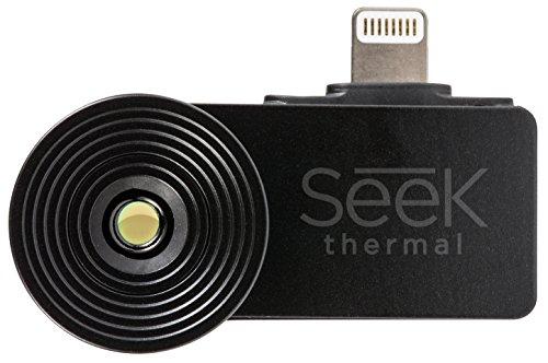 Seek-Thermal-Compact-Wrmebildkamera-Nachtsichtkamera-Thermal-Imaging-Camera-mit-Lightning-Anschluss-und-Wasserdichtem-Schutzgehuse-Kompatibel-mit-Apple-iOS-Smartphones-Schwarz