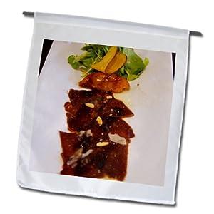 Danita Delimont - Cuisines - Carpaccio beef, cuisine, Buenos Aires, Argentina - SA01 PKA0247 - Per Karlsson - 12 x 18 inch Garden Flag (fl_85460_1)