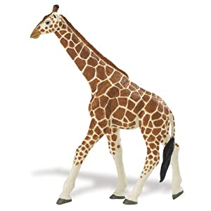Safari Ltd  Wild Safari Wildlife Wonders Reticulated Giraffe