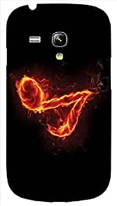 Timpax protective Armor Hard Bumper Back Case Cover. Multicolor printed on 3 Dimensional case with latest & finest graphic design art. Compatible with only Samsung I8190 Galaxy S III mini. Design No :TDZ-21278
