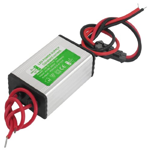 Ac 86-265V 2-12V 300Ma Water Resistant Power Supply Driver For 3X1W Led Strip Light