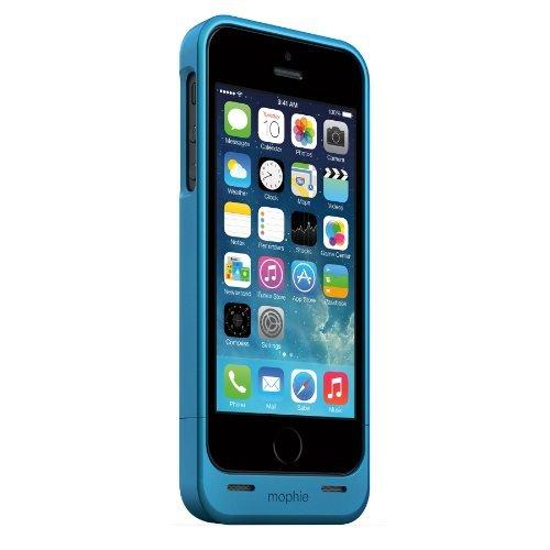 日本正規代理店品mophie juice pack helium for iPhone 5s/5 ブルーメタリック MOP-PH-000056