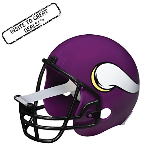 Scotch Magic Tape Dispenser, Minnesota Vikings Football Helmet with 1 Roll of 3/4 x 350 Inches Tape (Football Dispenser compare prices)