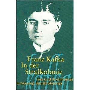 eBook Cover für  In der Strafkolonie Suhrkamp BasisBibliothek