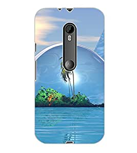 MOTOROLA MOTO G3 BEACH Back Cover by PRINTSWAG