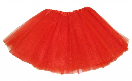 Red 5 Layer Dance Or Ballet Tutu front-298153