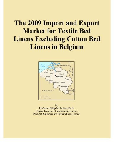 The 2009 Import and Export Market for Textile Bed Linens Excluding Cotton Bed Linens in Belgium