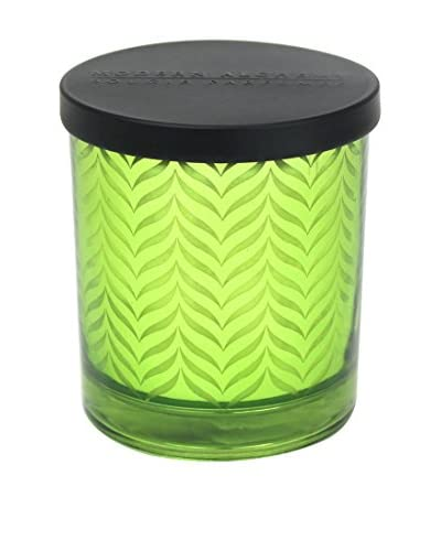 Modern Alchemy Wing Patterned Green Flowering Moss 10-Oz. Candle