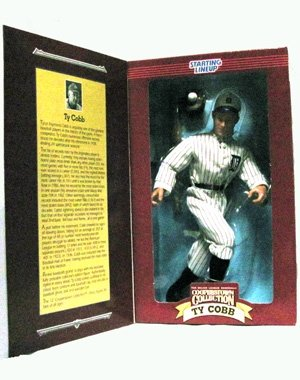 1996 Ty Cobb 12 Inch MLB Cooperstown Collection Starting Lineup - 1