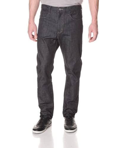 THVM Men's Tapered Raw Rigid Denim  [Raw]